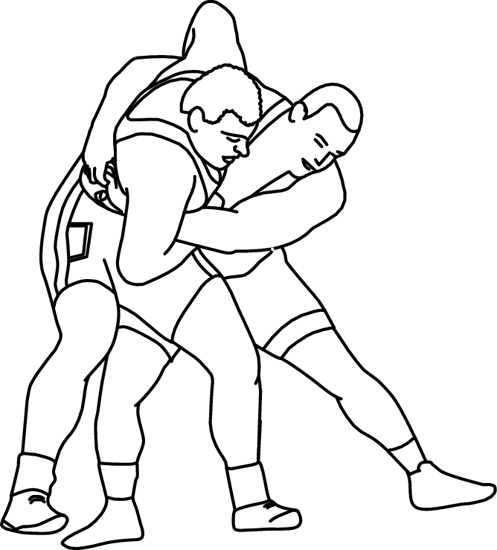 Sports : 08_10_R_05BW : Classroom Clipart