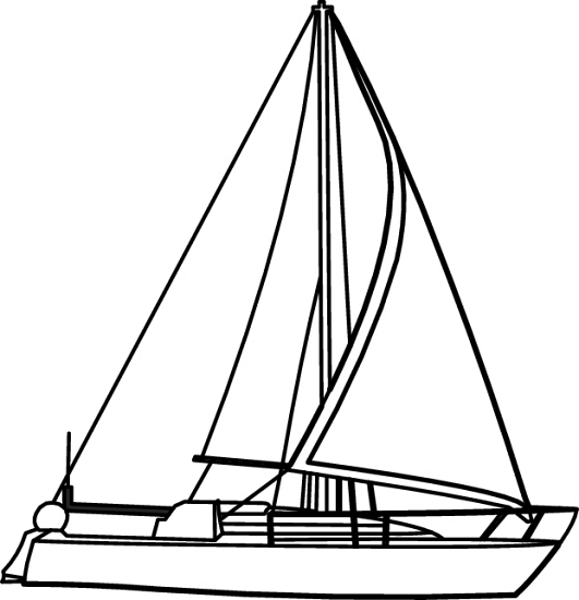 Transportation : sailing_boat_709_16RBW : Classroom Clipart