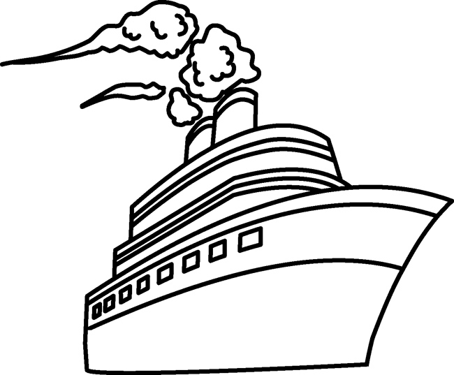 Transportation : travel_passenger_ship_outline : Classroom