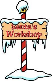 Christmas Clipart Clipart santasworkshop Classroom Clipart