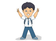 uniform boy clipart student wearing clip results graphics