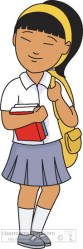 uniform student wearing asian clipart 1015 clip uniforms female results classroomclipart transparent medium background members join graphics