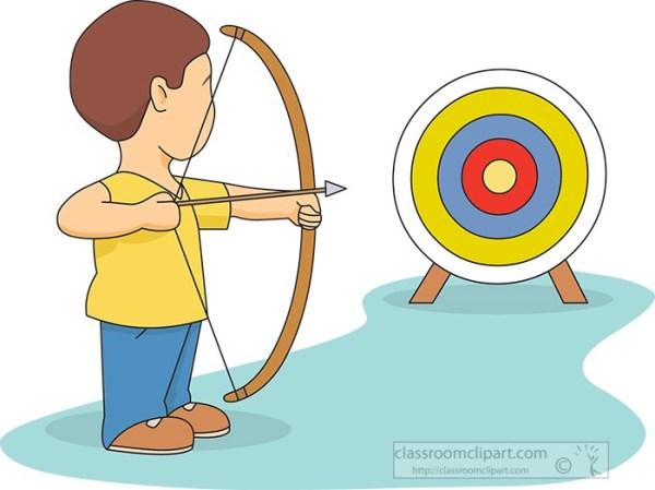 Archery Clipart archerywithbullseyetarget Classroom