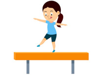 Sports Clipart Free Gymnastics Clipart to Download