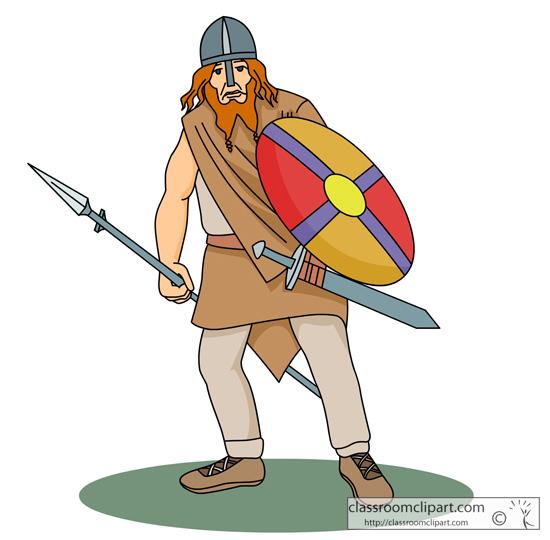 vikings with sword shield 3