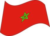 moroccan flag clip art cliparts