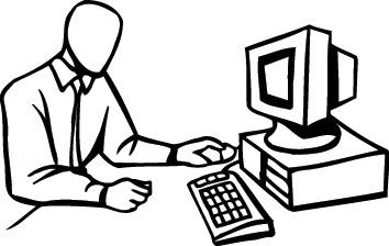 Computers : computer_128 : Classroom Clipart