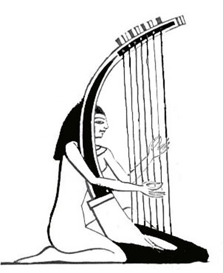 Musical Instruments : egypt_music : Classroom Clipart