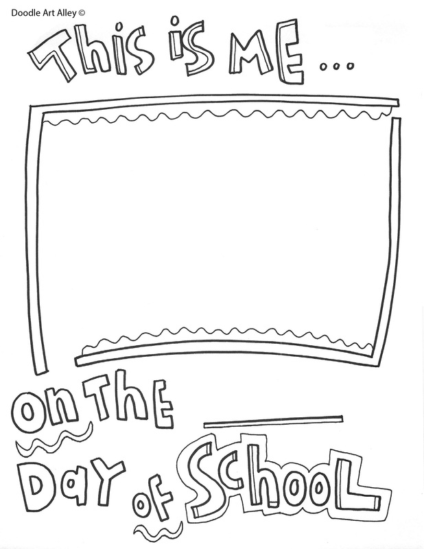 End Of The Year Coloring Pages : coloring, pages, Coloring, Pages, Printables, Classroom, Doodles