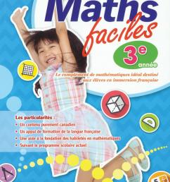 Maths faciles for French Immersion - Grade 1   Classroom Essentials  Scholastic Canada [ 1200 x 879 Pixel ]