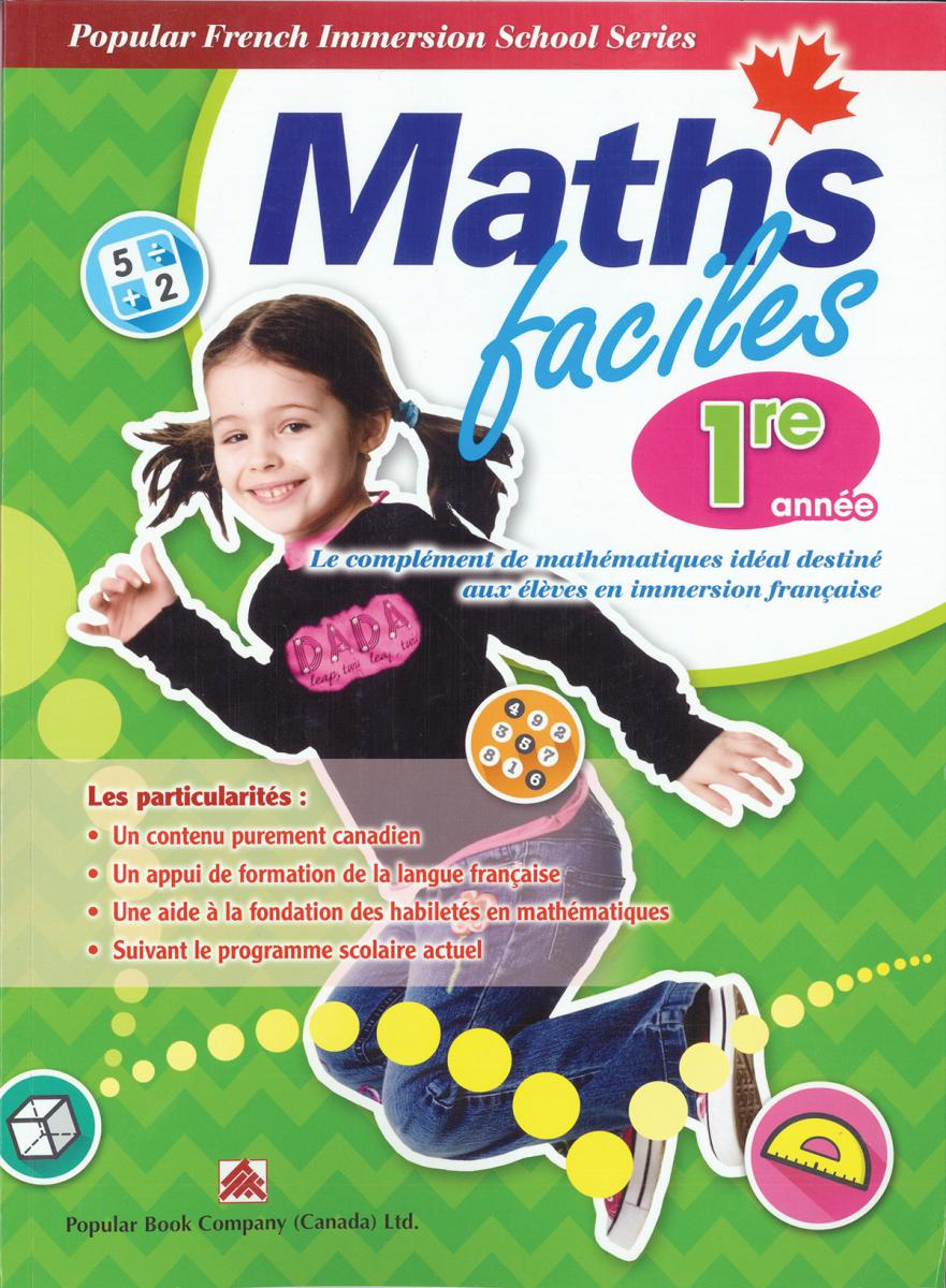 medium resolution of Maths faciles for French Immersion - Grade 1   Classroom Essentials  Scholastic Canada