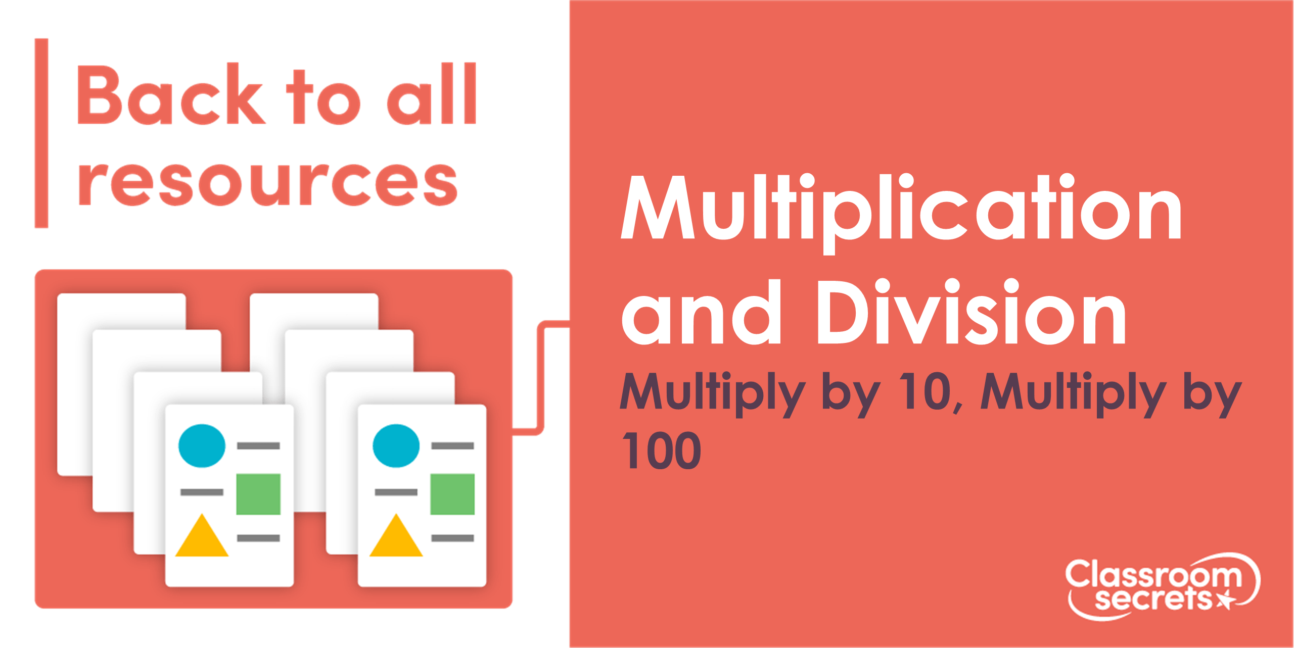 Year 5 Multiplying By 10 100 And 1 000 Lesson