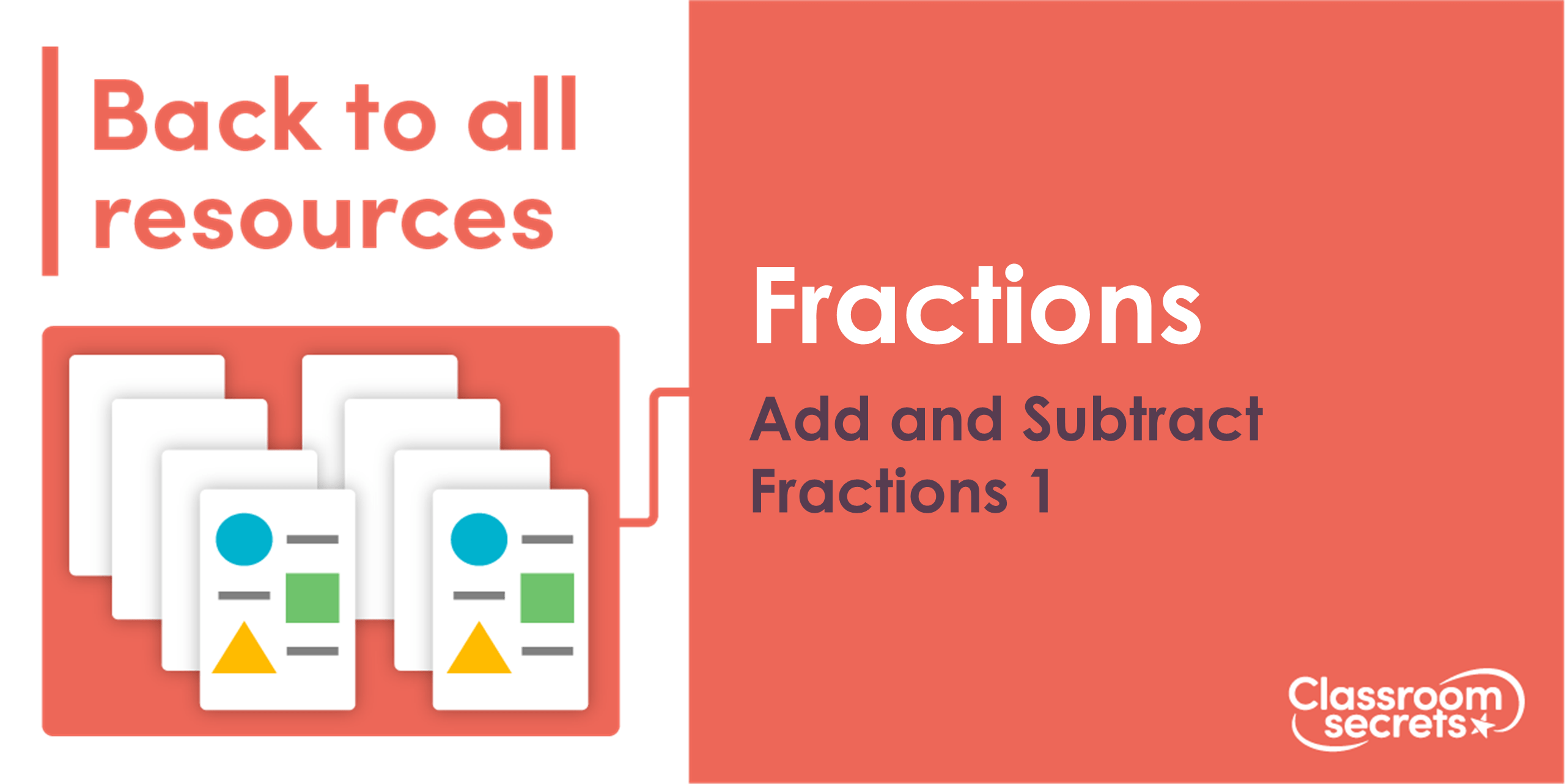 Year 6 Add And Subtract Fractions 1 Lesson