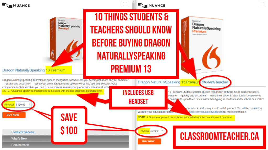 10 things to know before you get the Dragon NaturallySpeaking Premium Student & Teacher discount