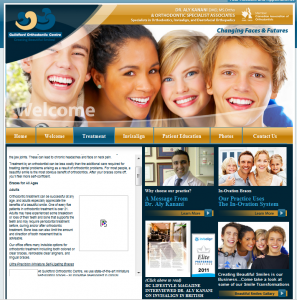 Example of Using Stock Photography on your business website - dentist2