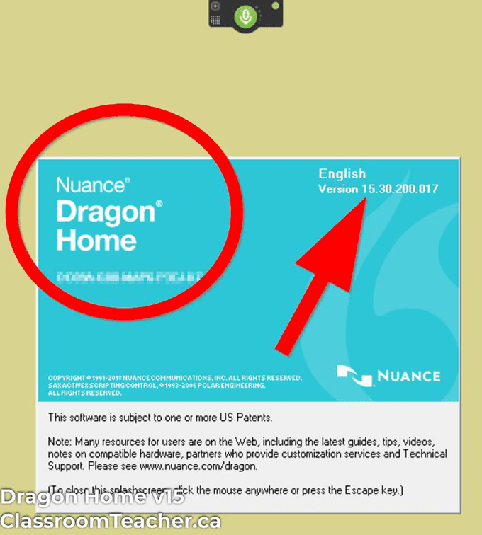 Screenshot of Dragon Home v15 product info