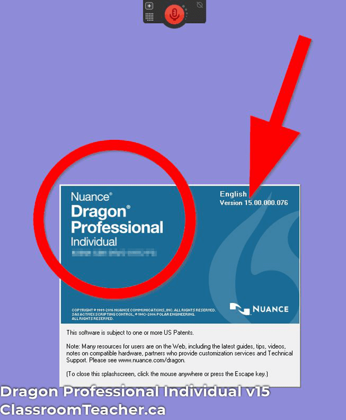 Use Dragon Speak Naturally - Screenshot of Nuance Dragon Professional Individual 15 product info for Dragon Home vs Professional 15 review