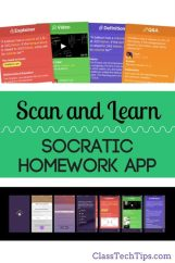 Scan and Learn with the Socratic Homework App