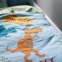 Dinosaur bedding