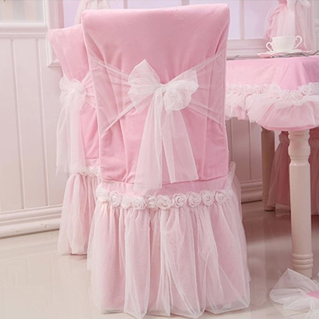 chair covers pink true innovations chairs rose cover