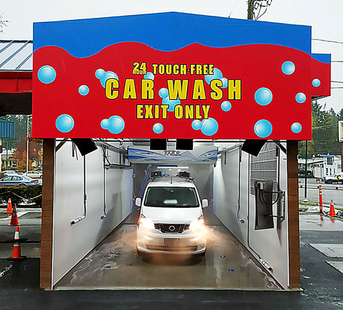TouchFree Automatic Car Washes Classy Chassis - Show me the closest car wash