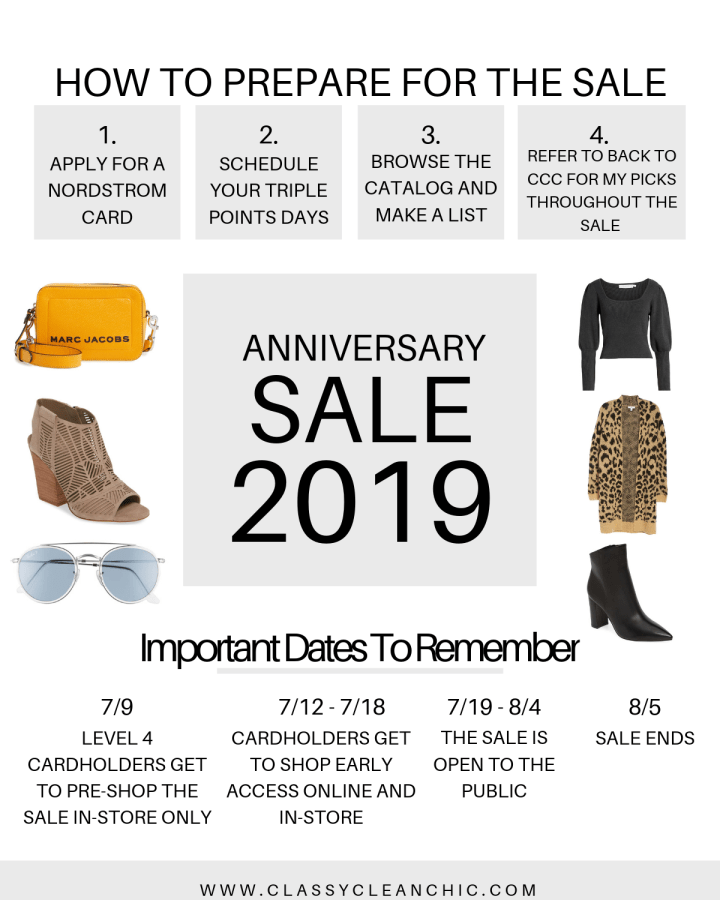 Nordstrom Anniversary Sale | Style blogger Emerson Hannon of Classycleanchic shares tips for the nordstrom anniversary sale