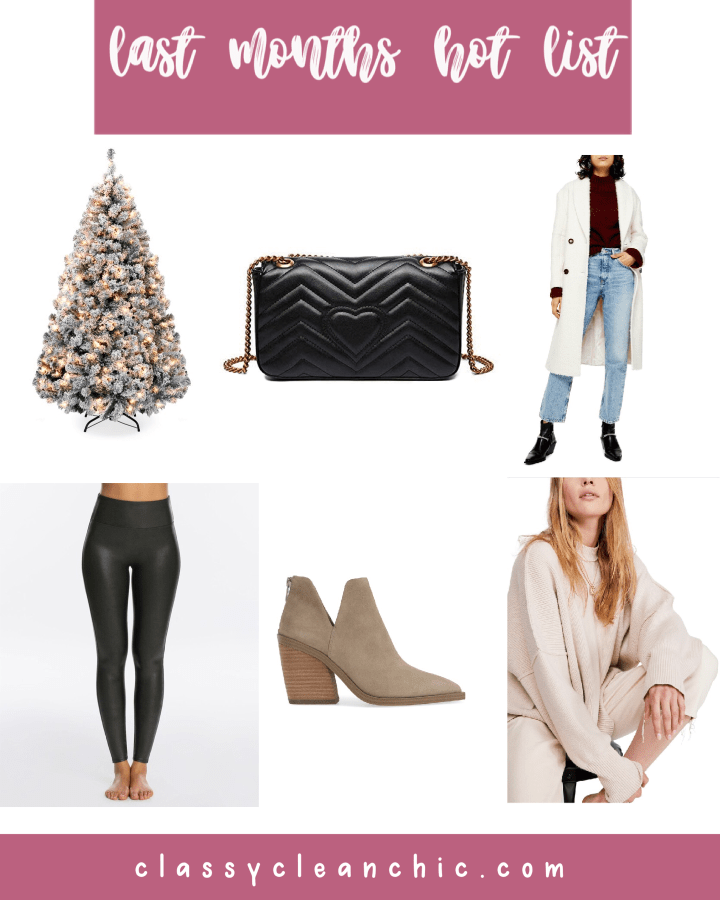 November Best Sellers | Style blogger Emerson Hannon of Classycleanchic shares November Best Sellers