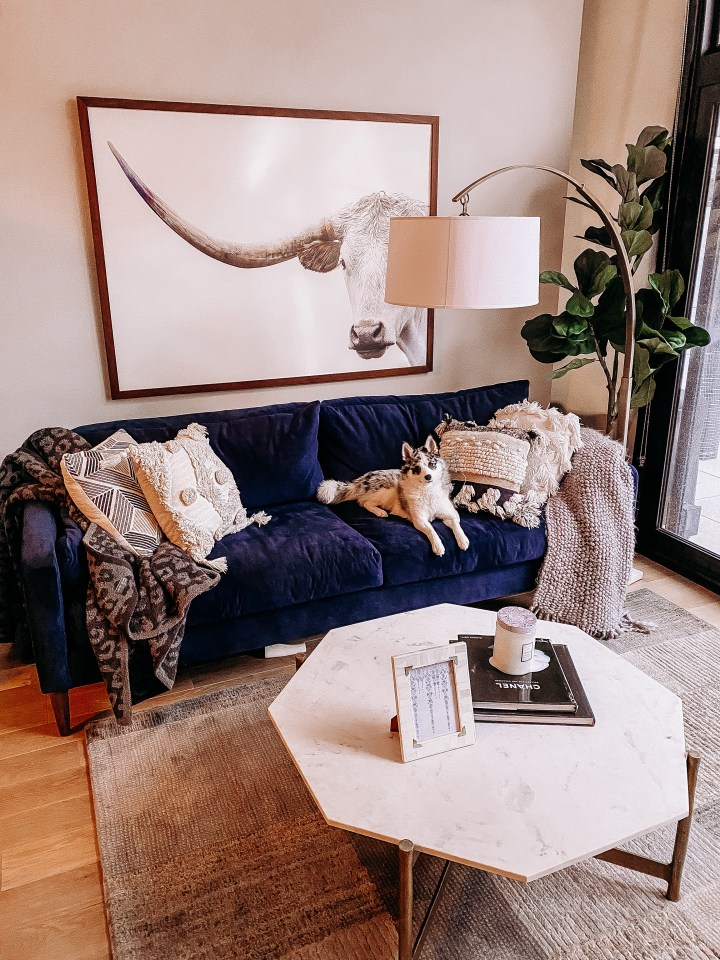 Best Minneapolis Home Decor | Style blogger Emerson Hannon of Classycleanchic shares Our New Family Room Reveal with Traditions!