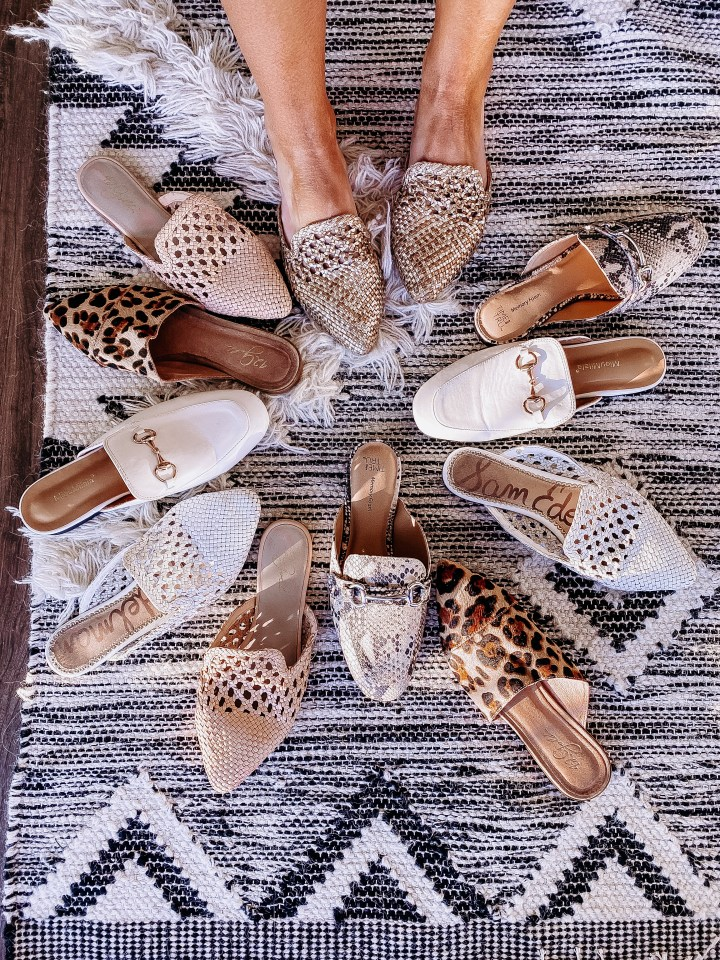 Best Summer Mules | Style blogger Emerson Hannon of Classycleanchic shares Best Summer Mules