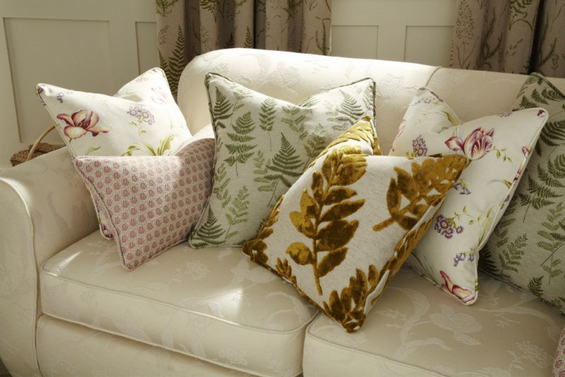 cushions, textures