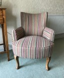 Chair_Upholstery_stripe Fabric_04
