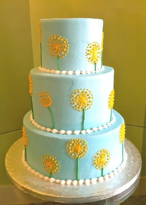 Image result for Dandelion Tiered Cake