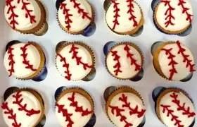 Baseball Field Cupcakes