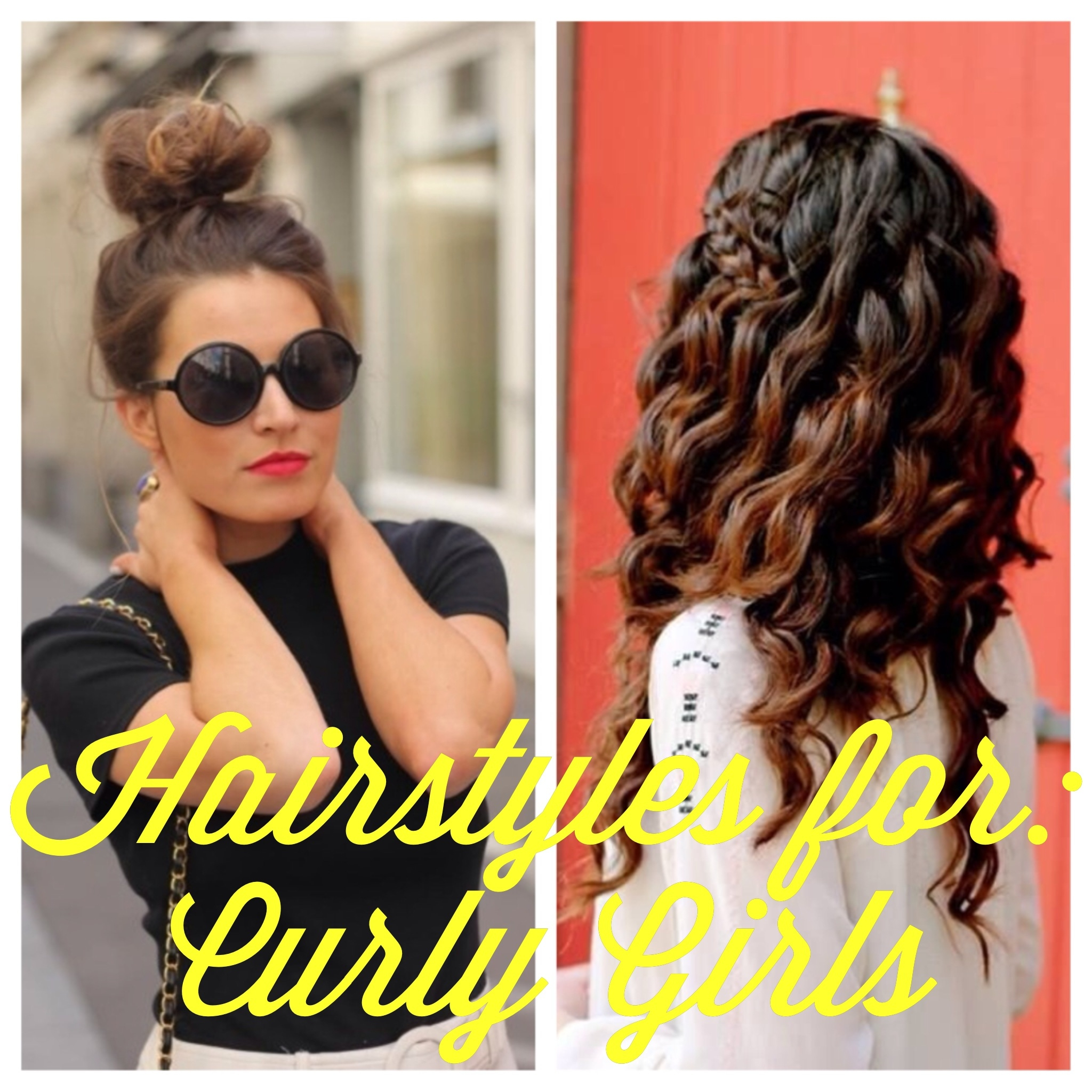 Blogust Day #28 Hairstyles For Curly Girls Classy Girl With Curls