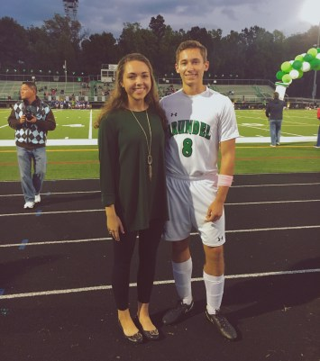 Zach's Senior Night