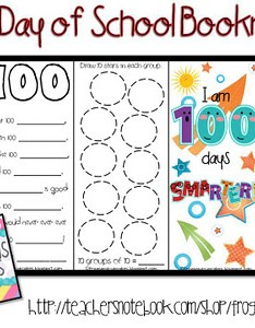 days of school free bookmarks   also best th day printable activities and worksheets rh classymommy