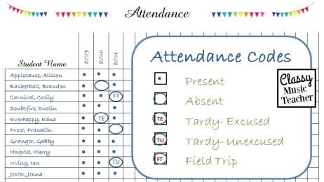 AttendanceCodes