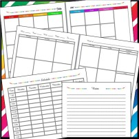 Teacher Planner Preview