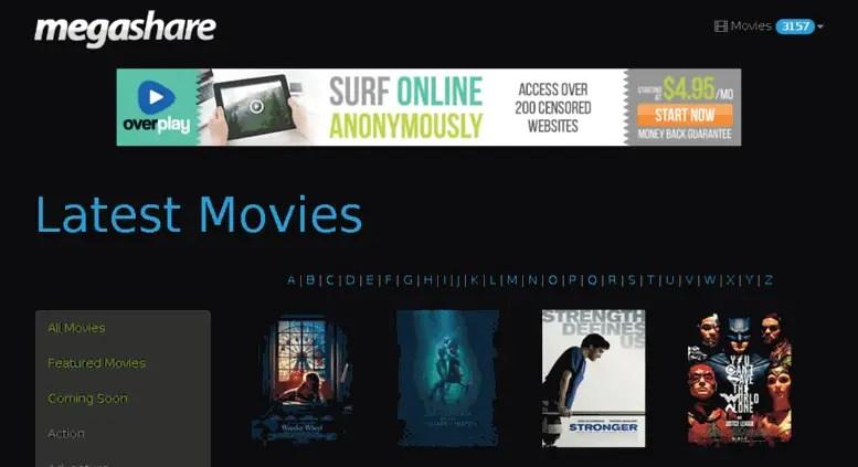 megashare online movie site - viooz alternatie site