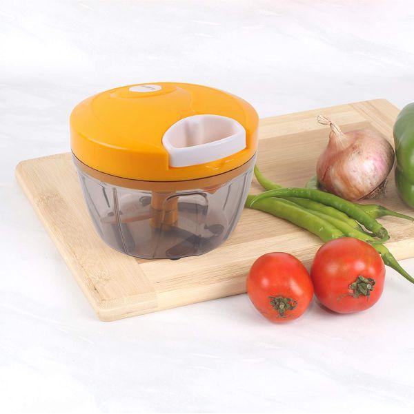 Powerful Manual Food Chopper 3 Blades Vegetable Food ...