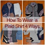 How To Wear A Plaid Shirt 4 Ways