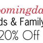Bloomingdale's Friends & Family Sale!