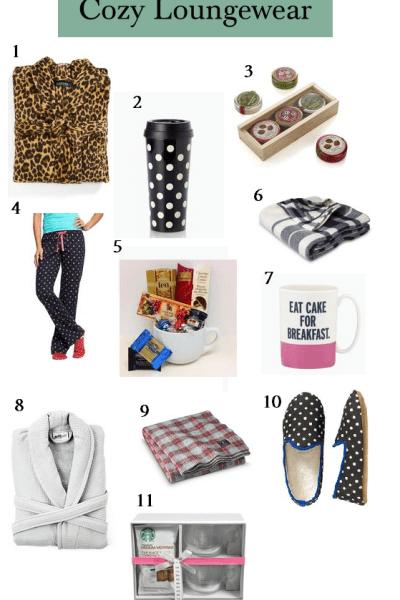 Gift Guide: Cozy Loungewear