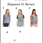 Le Tote Shipment #1 Review