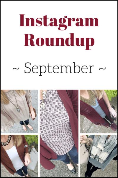 Instagram Roundup: September