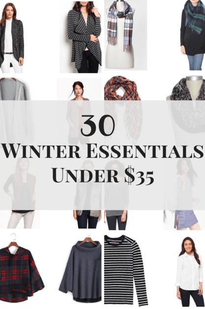 30 Winter Essentials Under $35