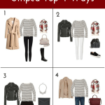 How To Wear A Striped Top 4 Ways