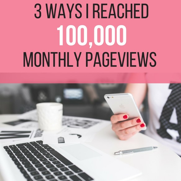 100,000 monthly pageviews