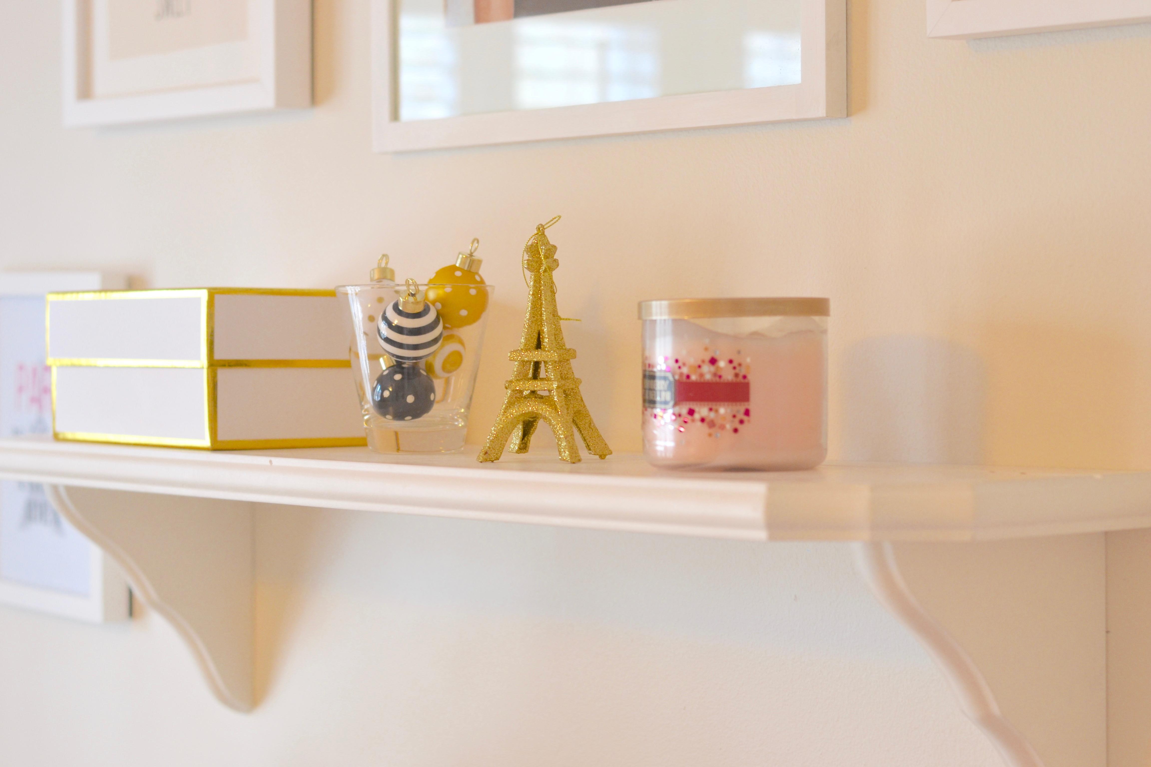 chalk paint white desk chic inspirational office 6