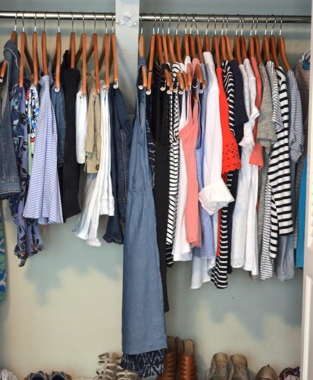 my summer capsule wardrobe